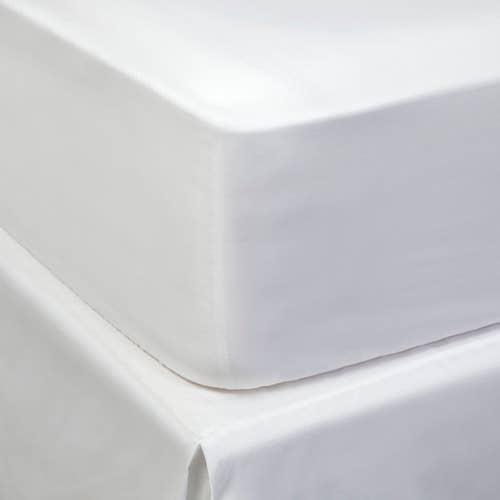 PIMA Satin de coton 300 fils/m² - 750 TC - Drap housse